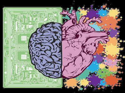 Logical brain vs. emotional brain