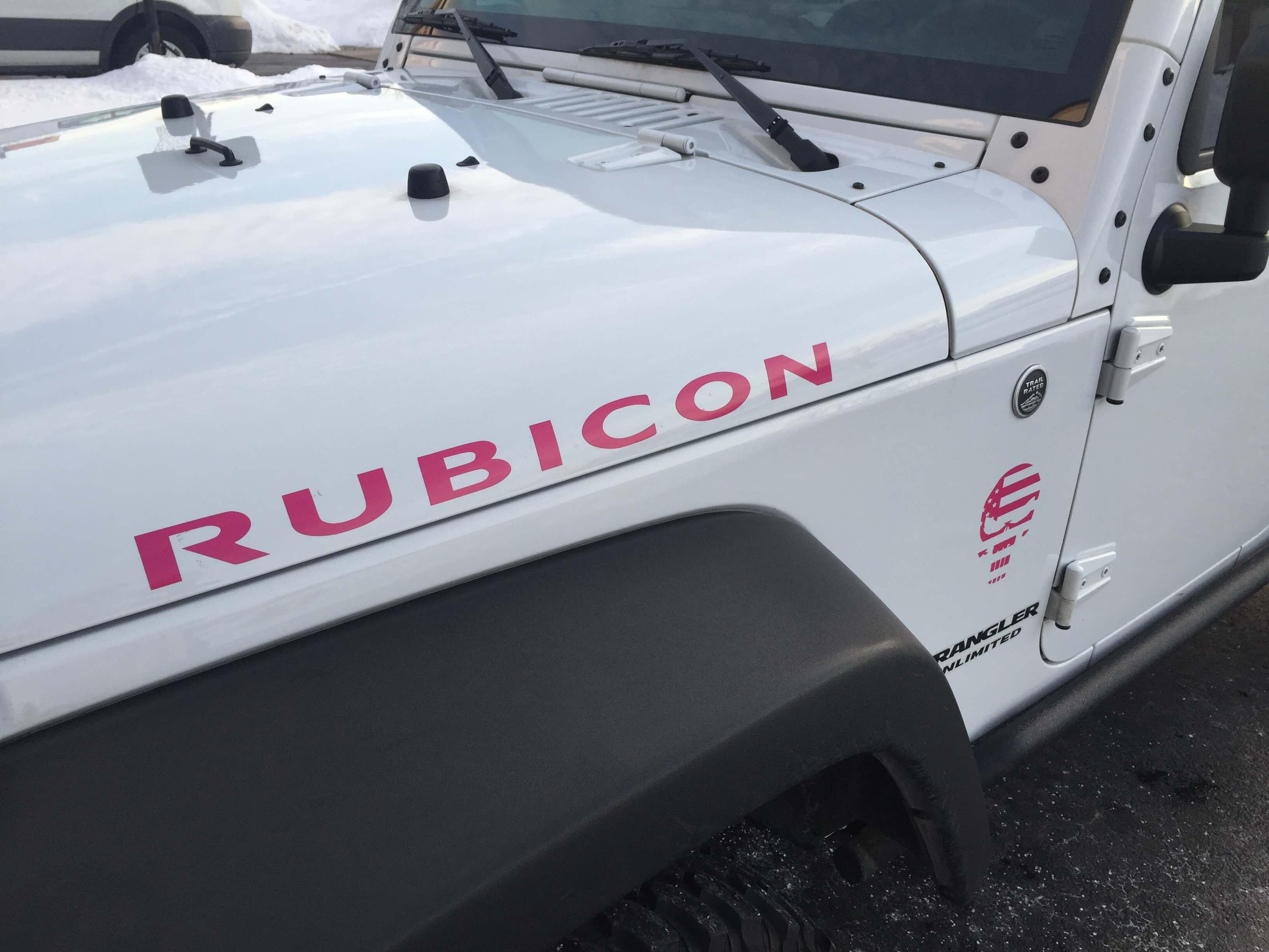 Custom Jeep Decal
