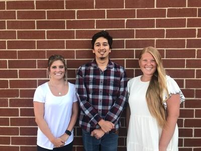 Desiree Blosser, Israel Mendez, and Allisan Ellwood