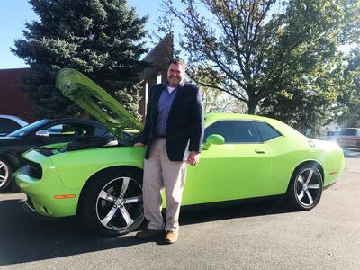 Dodge Challenger R/T Shaker – Cliff Schoenrade