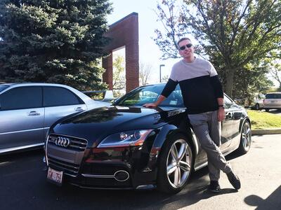 Chris Glenney Audi TT-S