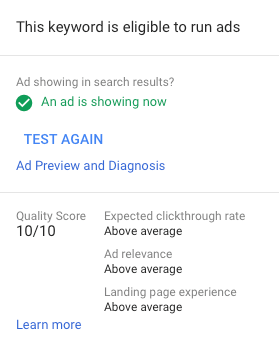 What Is Quality Score