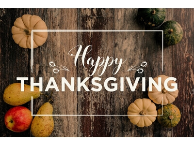 Happy Thanksgiving from Aronson Advertising