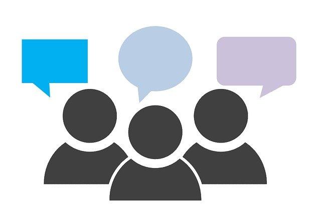 Conversational Content speech bubbles