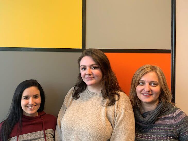 Aronson Advertising Employee of the Month winners for March 2020
