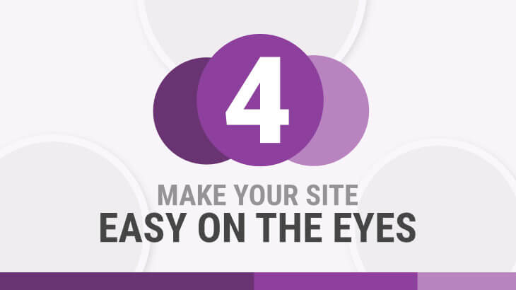 User Experience & SEO | 4. Make Your Site Easy on the Eyes