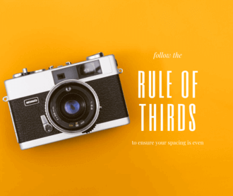 Social Media Graphics: Rule of Thirds